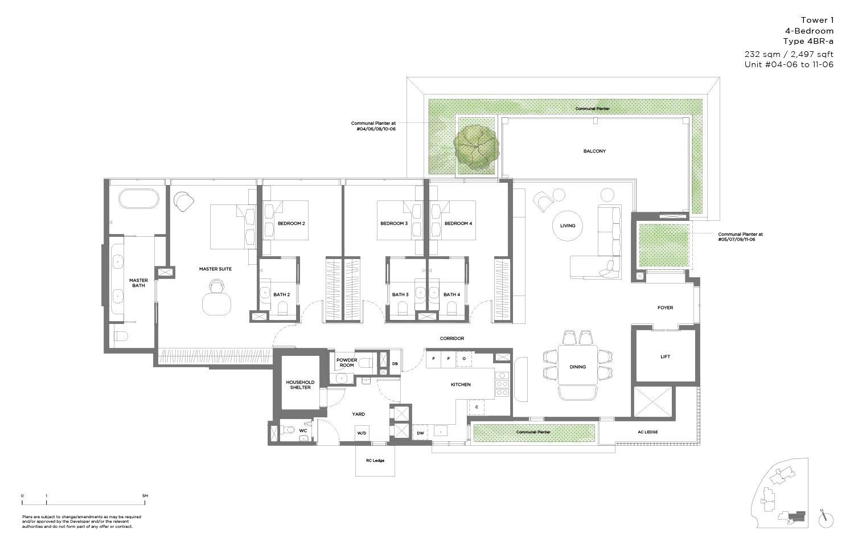 15 Holland Hill 4 Bedroom 2,497sf