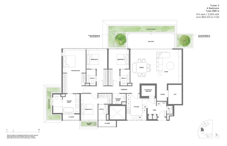 15 Holland Hill 4 Bedroom 2,303sf
